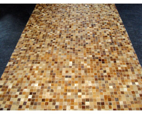 Patchwork Sandstone Area Rug by Modern Rugs
