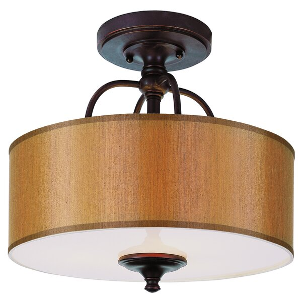 Modern Meets Traditional Semi Flush Mount by TransGlobe Lighting