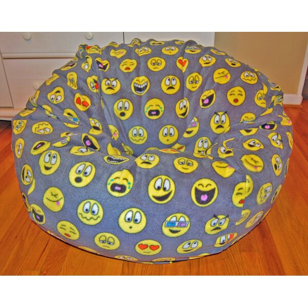 Emojis Bean Bag Chair by Ahh! Products