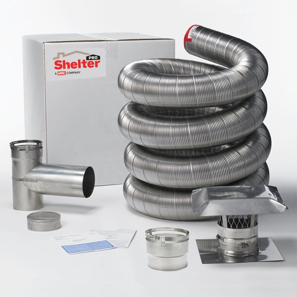 Pro Steel Venting Kit By Shelter