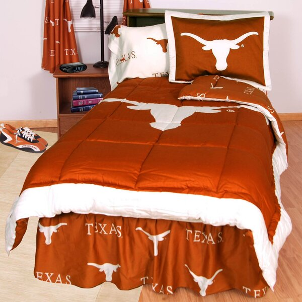 NCAA Reversible Bed in a Bag Set by College Covers