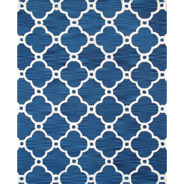 Venice Hand Tufted Transitional Blue Area Rug by Pasargad