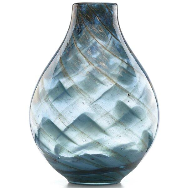 Seaview Swirl Table Vase by Lenox