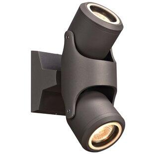 Reviews Nekoosa 2-Light LED Spotlight By Latitude Run
