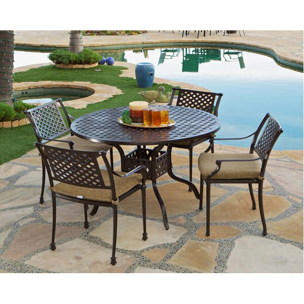 Sierre 5 Piece Dining Set by Art Frame Direct