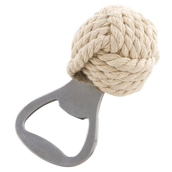 Clarksburg Cotton Rope Nautical Knot Bottle Opener by Breakwater Bay