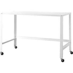 Upper Strode Metal Console Rolling Desk