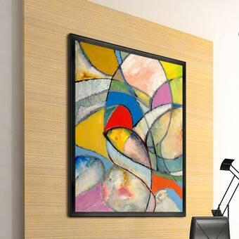 Artisbe An Abstract Painting Wrapped Canvas Painting On Canvas Allmodern