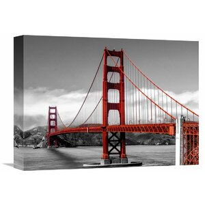 Golden Gate Bridge, San Francisco Photographic Print on Wrapped Canvas by Global Gallery