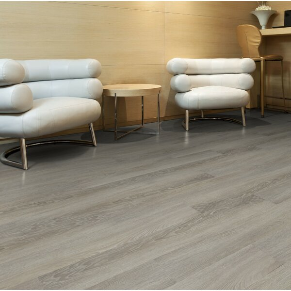 6 x 48 x 2.5mm Luxury Vinyl Plank in Light Brown by Floressence Surfaces