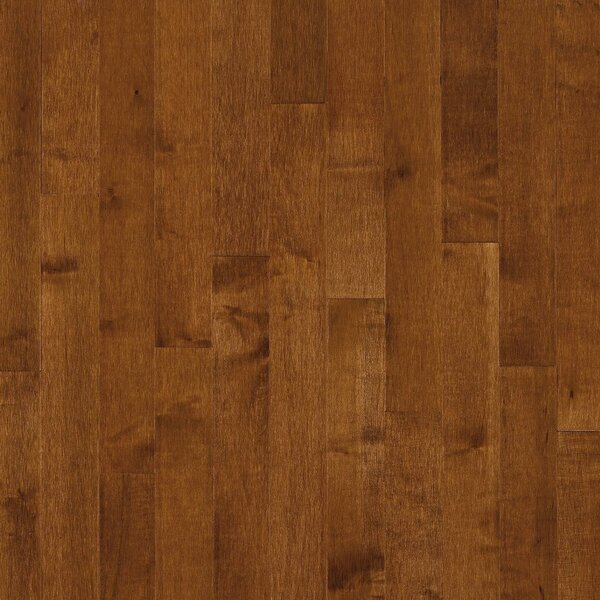 2-1/4 Solid Dark Maple Hardwood Flooring in Sumatra by Bruce Flooring
