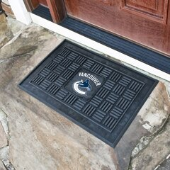NHL - Vancouver Canucks Medallion Doormat by FANMATS