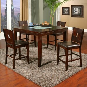 Lakeport Counter Height Dining Table by Alpine Furniture