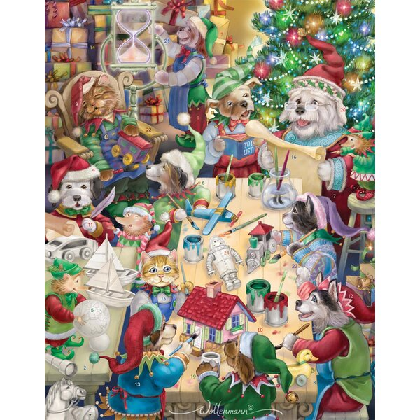 North Pole Pets Advent Calendar by The Holiday Aisle