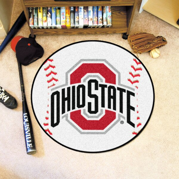 NCAA Ohio State University Baseball Mat by FANMATS