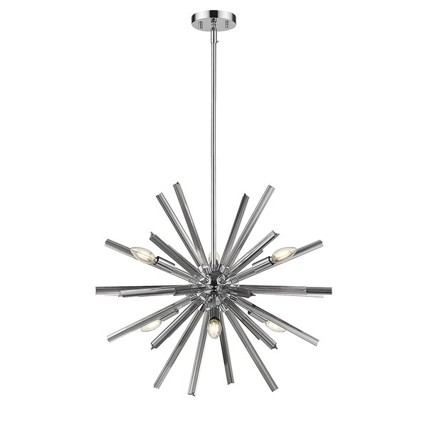 Harbin 6 - Light Sputnik Sphere Chandelier by Ove Decors Ove Decors