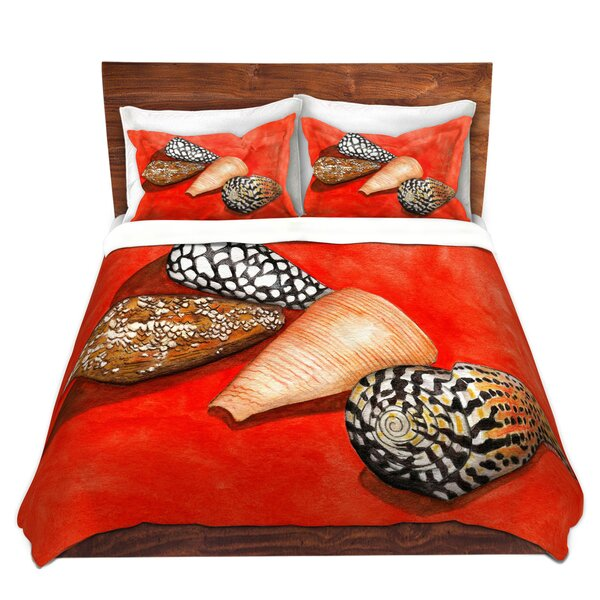 Cone Shells Duvet Cover Set