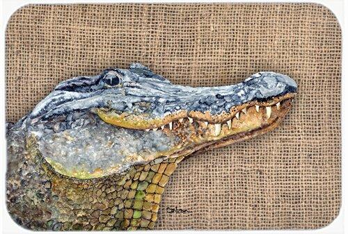 Alligator Kitchen/Bath Mat by Caroline's Treasures