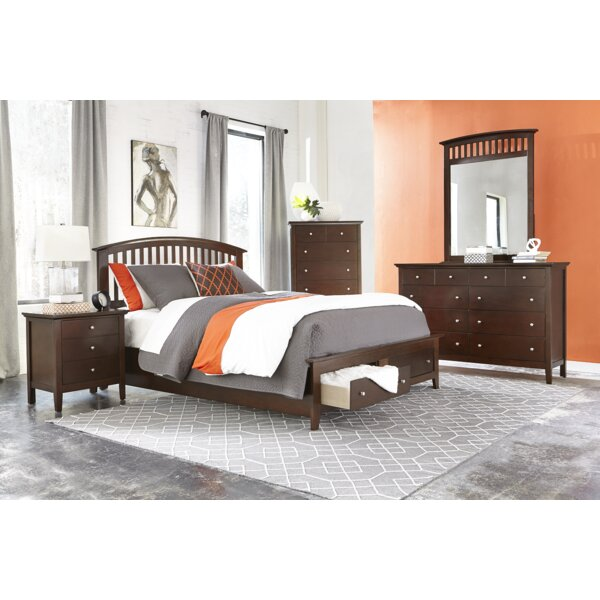 Hallberg Panel Configurable Bedroom Set by Red Barrel Studio