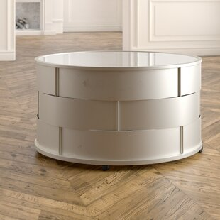 Cliburn Barrel Coffee Table
