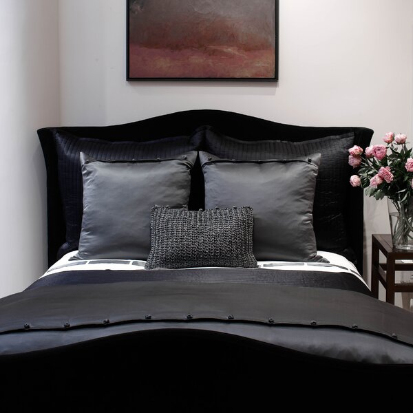 Silk Charmeuse French Knot Single Duvet Cover