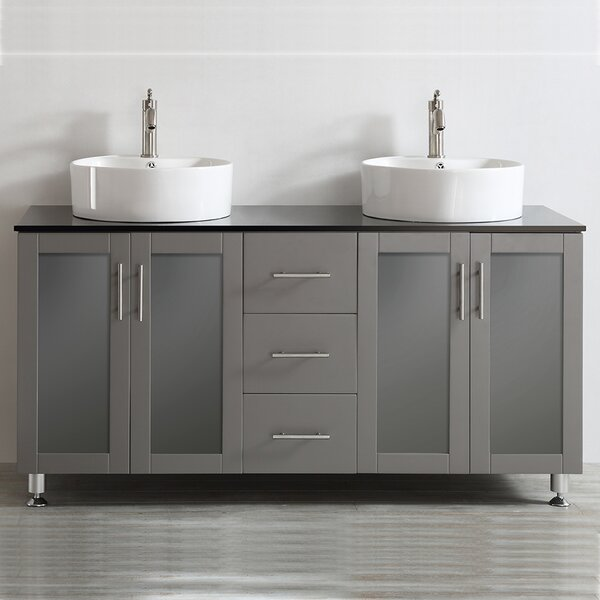 Boswell 60 Double Vanity Set By Mercury Row.