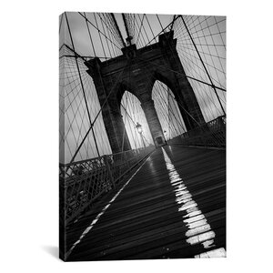 Brooklyn Bridge Study I by Moises Levy Photographic Print on Canvas by Latitude Run