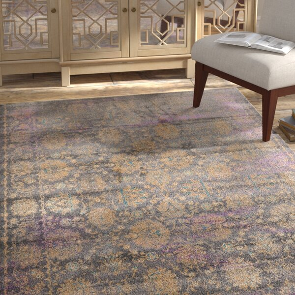 Sepe Gray Area Rug by Bungalow Rose