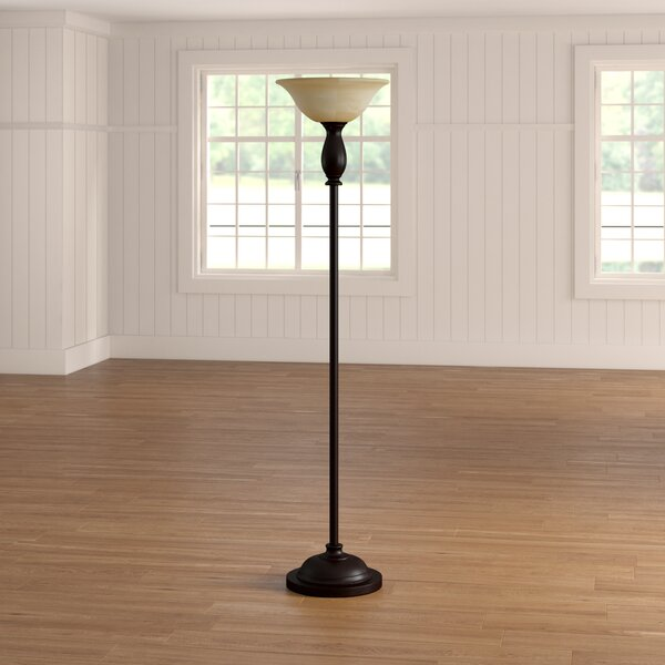 Clement 71 Torchiere Floor Lamp by Alcott Hill