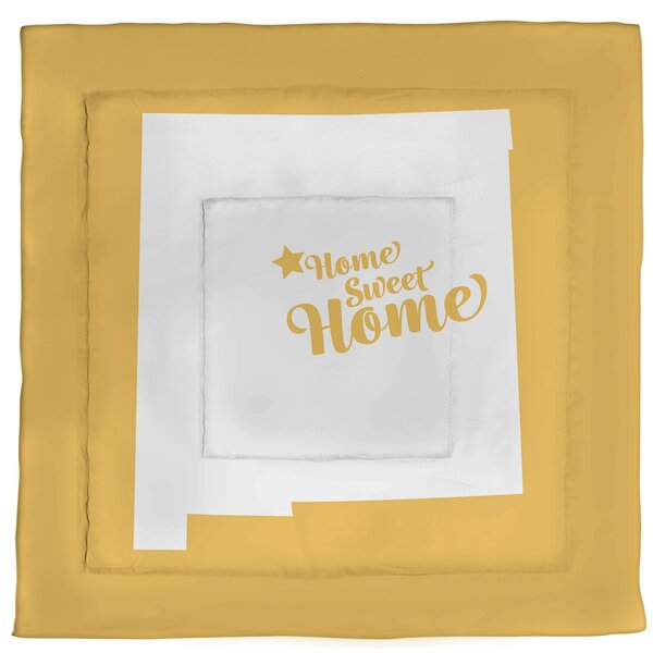 Albuquerque Home Sweet Single Reversible Comforter