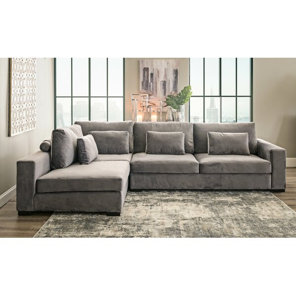 Oscar Left Hand Facing Sectional by Home by Sean & Catherine Lowe