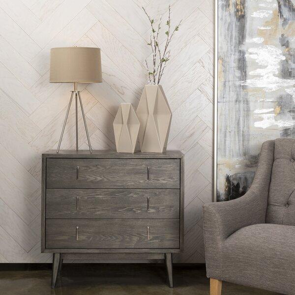 Louann 3 Drawer Dresser by Brayden Studio