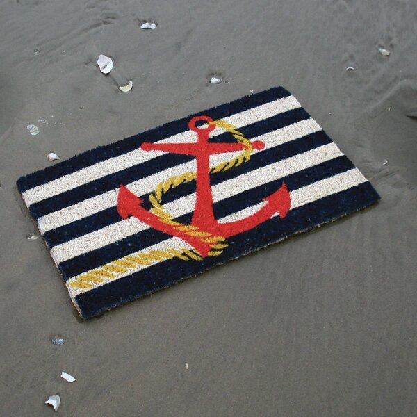 Wilhelmina Anchor Doormat by Breakwater Bay