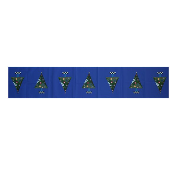 Crazy Christmas Holiday Print Table Runner by The Holiday Aisle