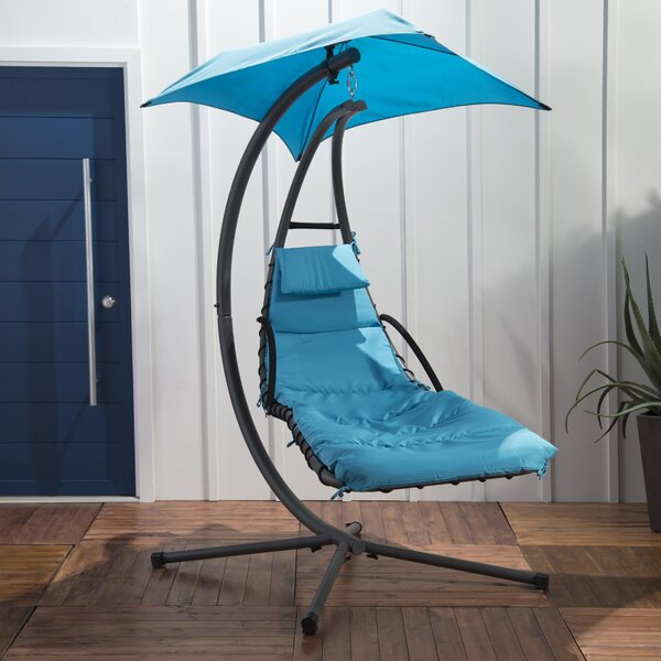 Macie Hanging Chaise Lounger with Stand by Freeport Park Freeport Park