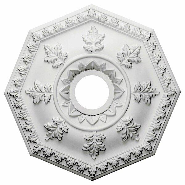 Nottingham 18H x 18W x 1 1/2D Ceiling Medallion by Ekena Millwork
