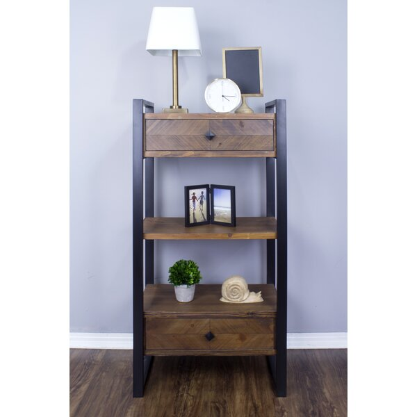 Delphine Standard Bookcase by 17 Stories