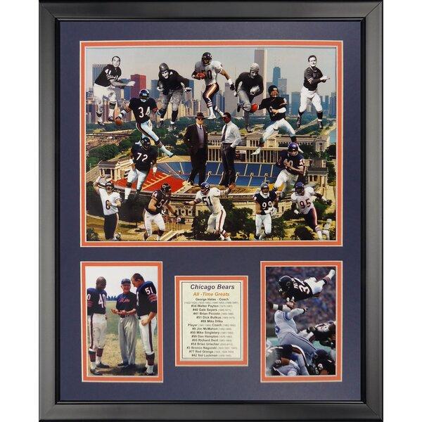 NFL Chicago Bears - Bear Greats Framed Memorabili by Legends Never Die
