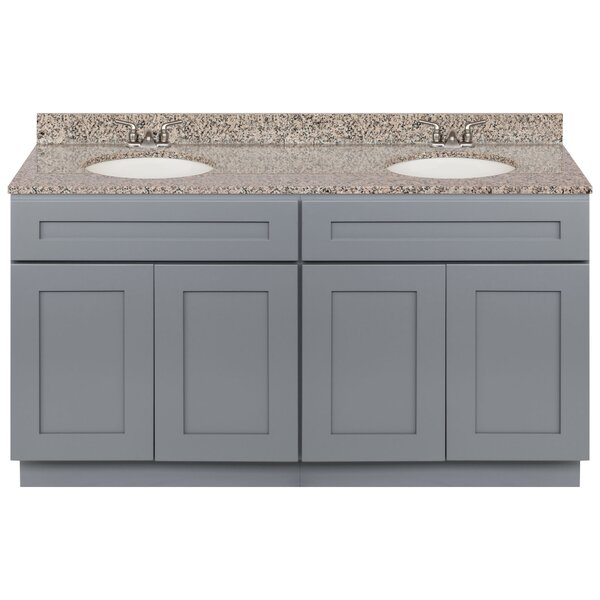 Strausbaugh 60 Double Bathroom Vanity Set by Winston Porter