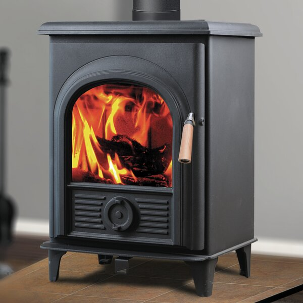 Shetland 800 sq. ft. Direct Vent Wood Stove by Hi-Flame