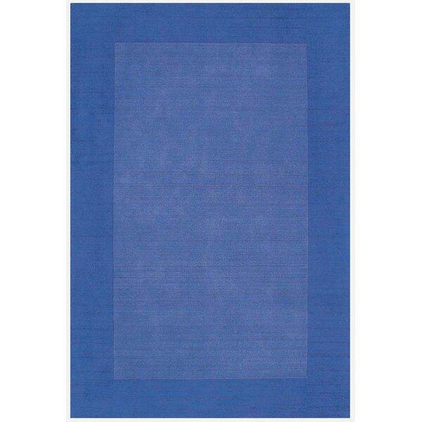 Loom Blue/Dark Blue Rug by Acura Rugs
