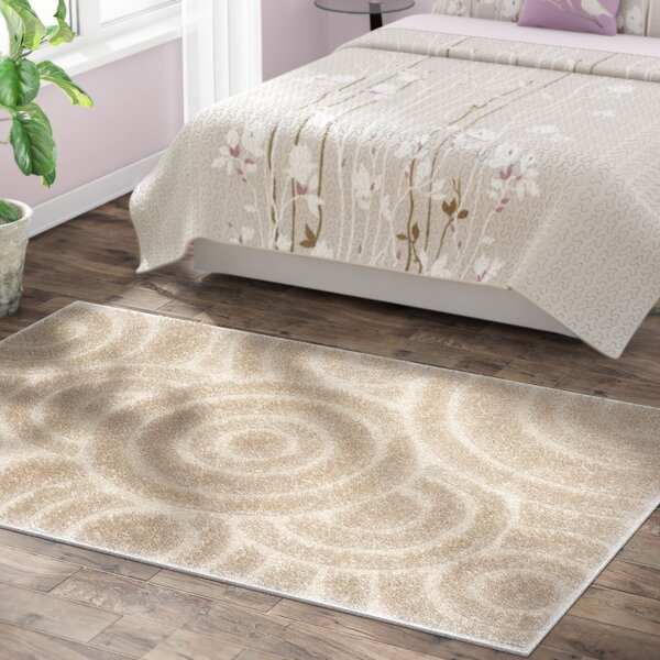 Mckay Cream Area Rug by Ebern Designs