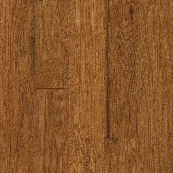 Signature Scrape 5 Solid Oak Hardwood Flooring in Gunstock by Armstrong Flooring