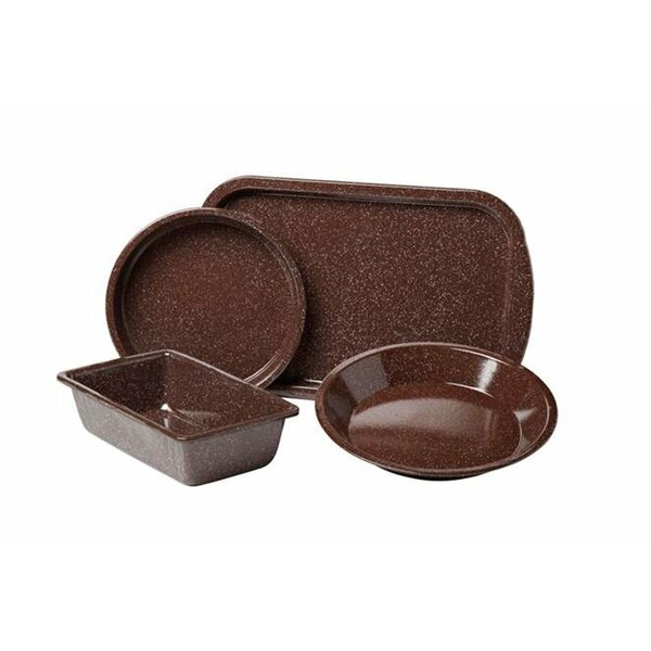 Better Browning 4 Piece Bakeware Set by Granite Ware
