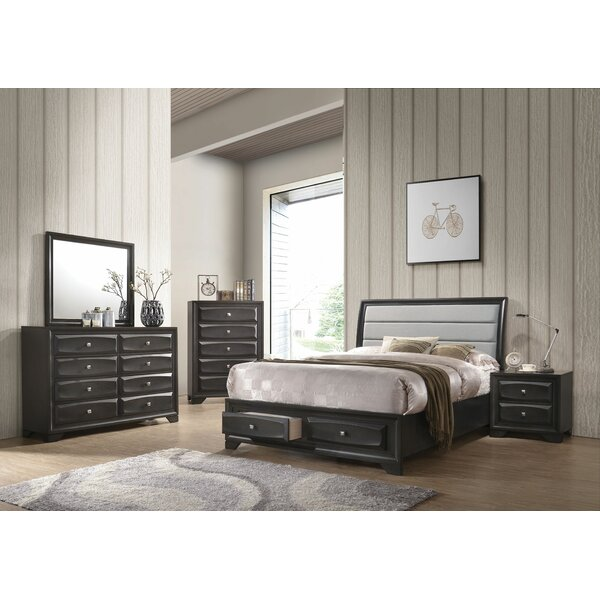 Damarion Sleigh Configurable Bedroom Set by Ebern Designs