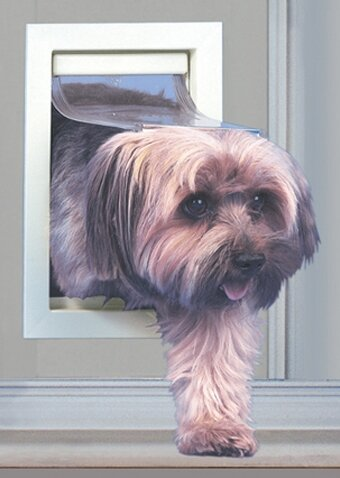 Small Modular Patio Panel Pet Door by Ideal Pet Products