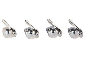 Bunny Place Card Holder (Set of 4) by Corbell Silver Company