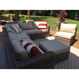 Aliyaah 8 Piece Rattan Sectional Seating Group With Cushions By Latitude Run Onsales Discount Prices Vnbhgyrtf