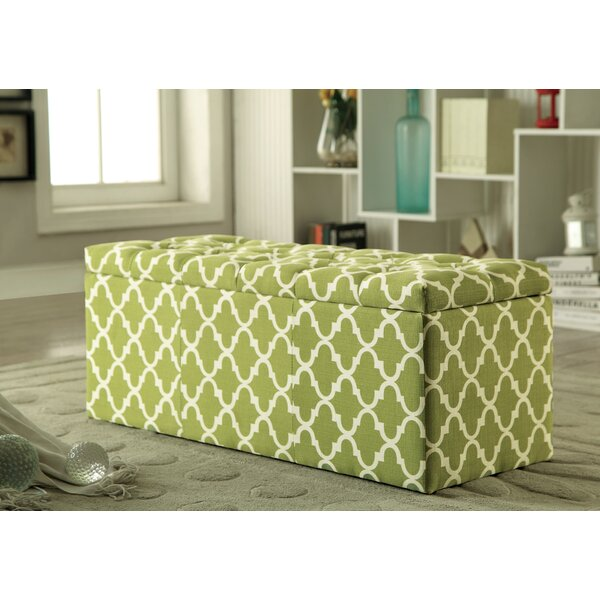 Chief Springs Upholstered Storage Bench by Red Barrel Studio