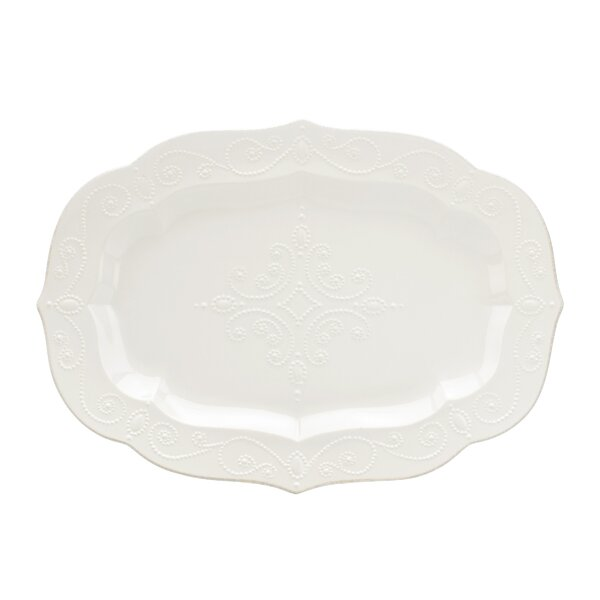French Perle Platter by Lenox
